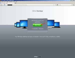 How to Deploy Citrix Receiver or Online Web Plugin on Web Interface